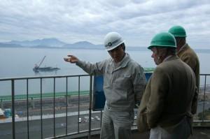 熊本県 パシフィックグレーンセンター株式会社 訪問