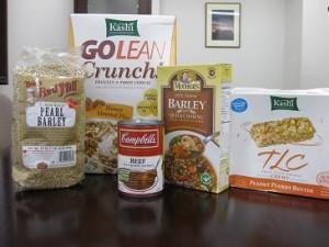 2009 barley products