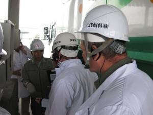 熊本県 八代飼料株式会社 訪問