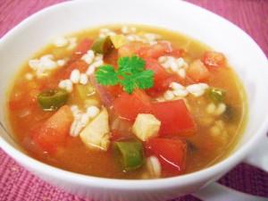 大麦のスープ